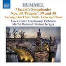 Hummel: Mozart's Symphonies, Vol. 1 - Nos. 38 'prague', 39 And 40 (Arranged For Flute, Violin And Piano) thumbnail